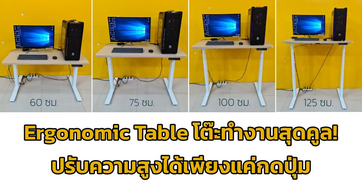 MITZ Ergonomic Table