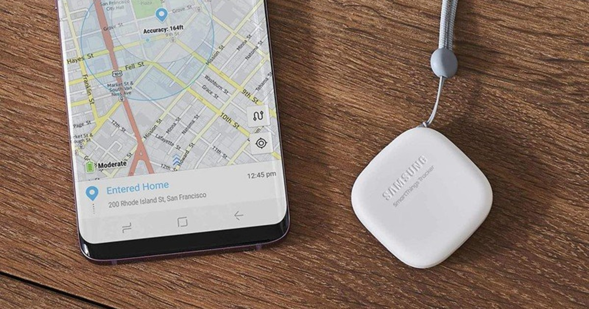 Samsung Galaxy Smart Tag Header
