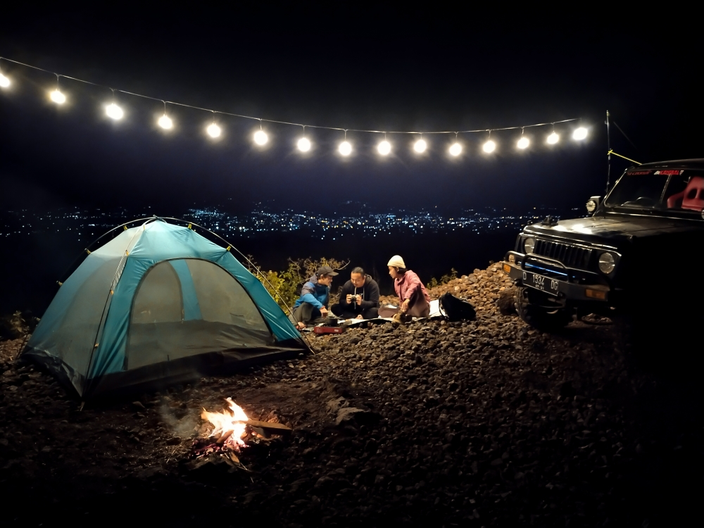 4. Camping Night with Beloved Friends – Rifqi Moch Lufpi
