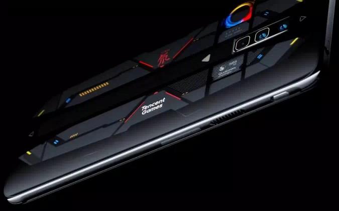 Nubia Red Magic 6 Pro Dao transparent special edition