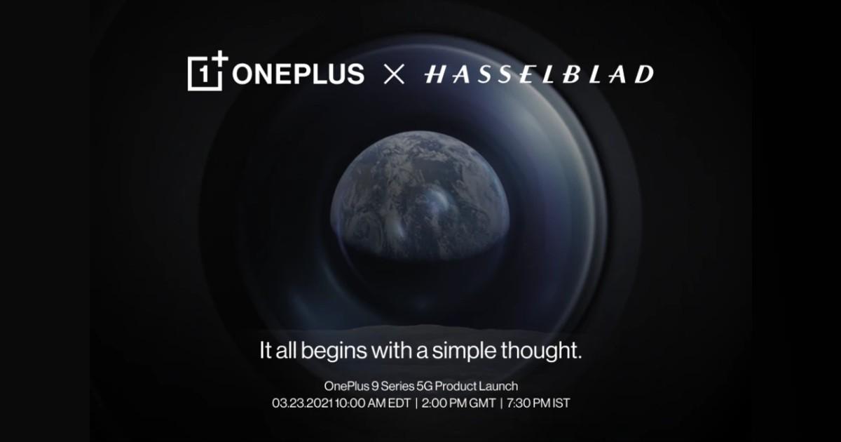 OnePlus 9 Event Header