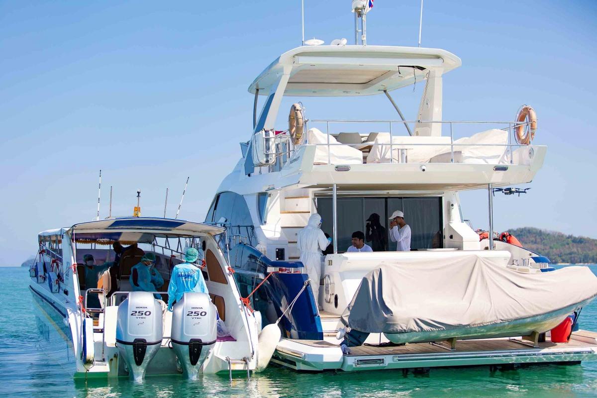 Pic 4 AIS digital yacht Quarantine