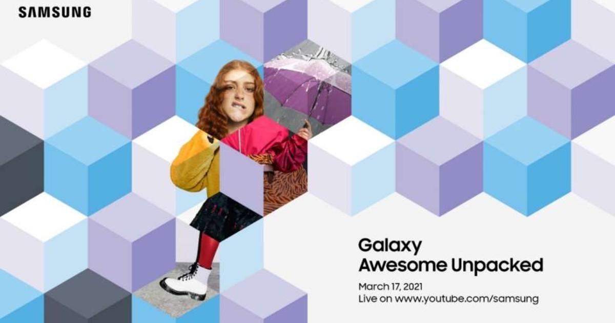 Samsung Galaxy Awesome Unpacked 2021 Header