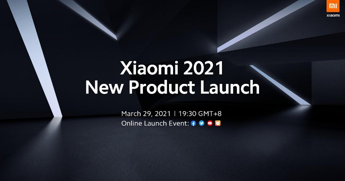 Xiaomi March 29th Event header