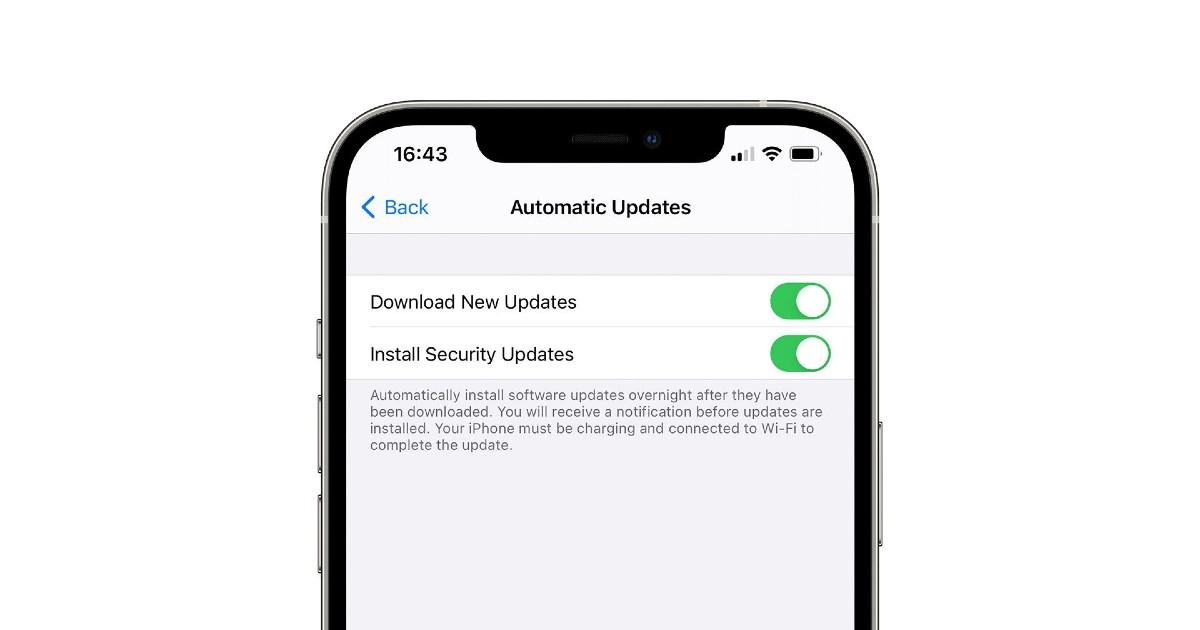 iOS Security Updates Header