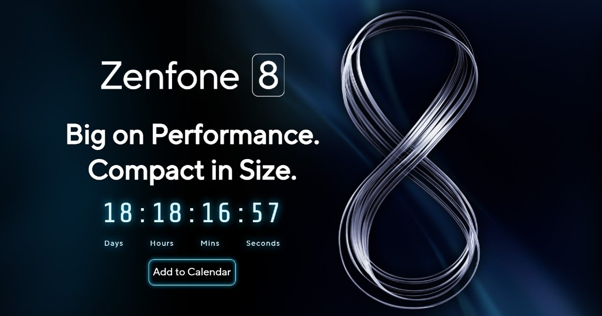 Asus Zenfone 8 Event Header