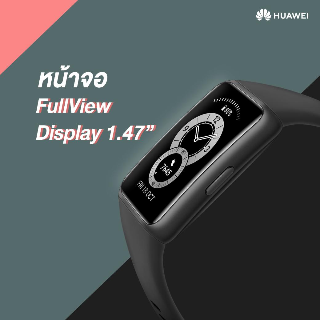 Band 6 – FullView Display