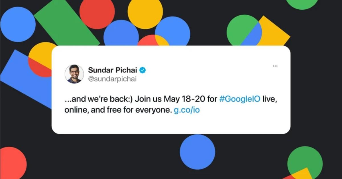 Google I:O 2021 Header
