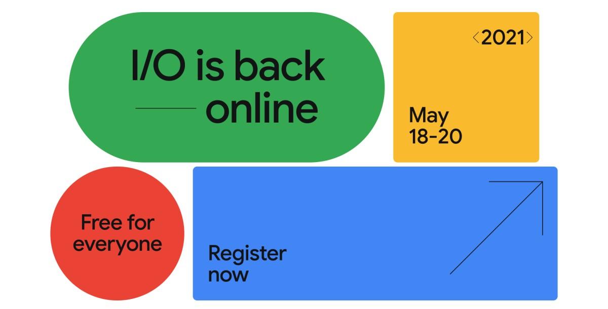 Google I:O 2021 Registration