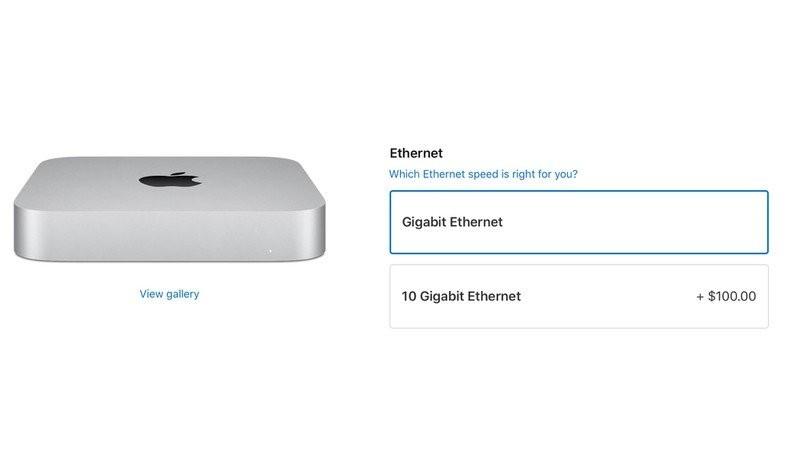 Mac Mini 10 Gigabit Ethernet