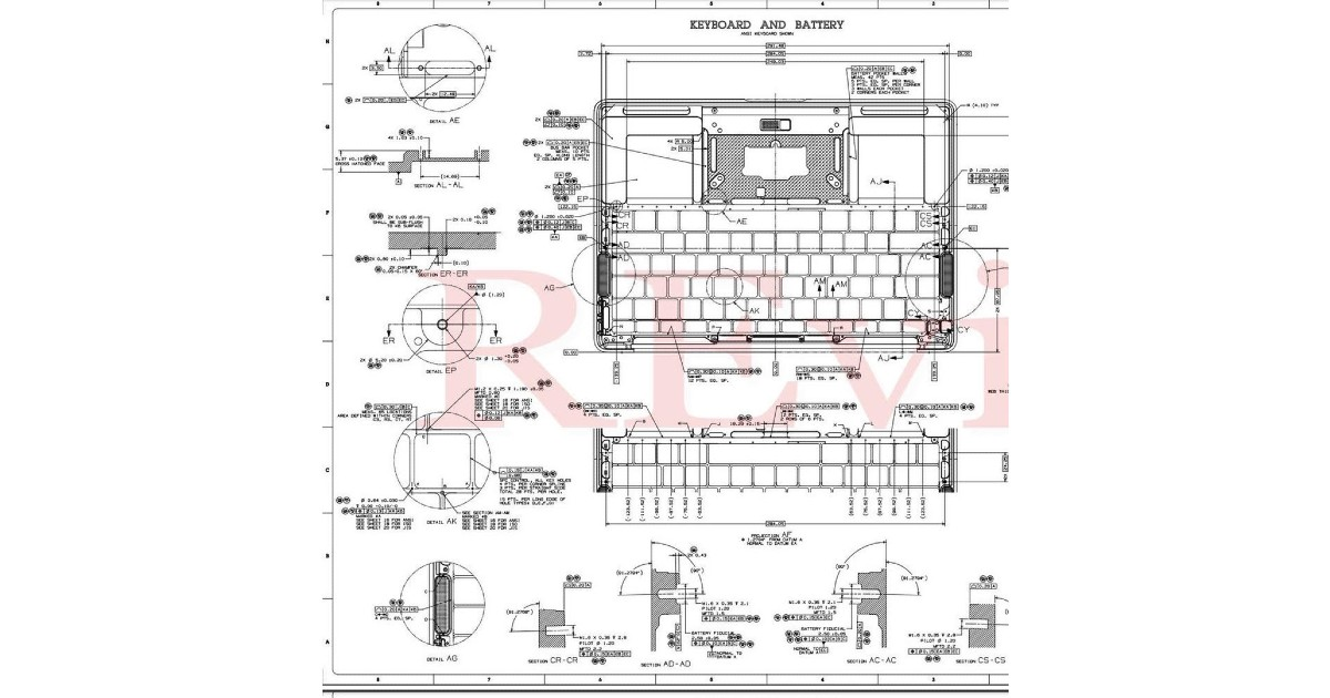 MacBook manufacture instruction