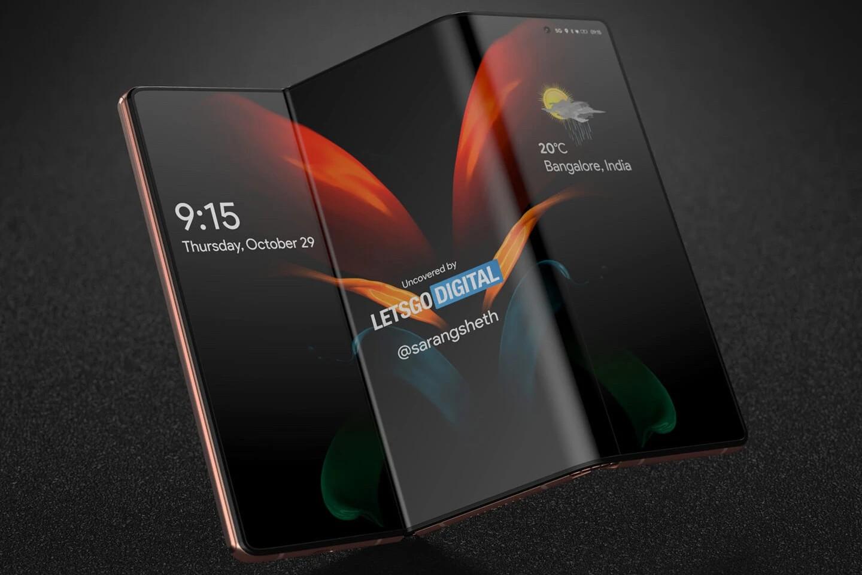 Samsung Galaxy Z Fold Tab Concept