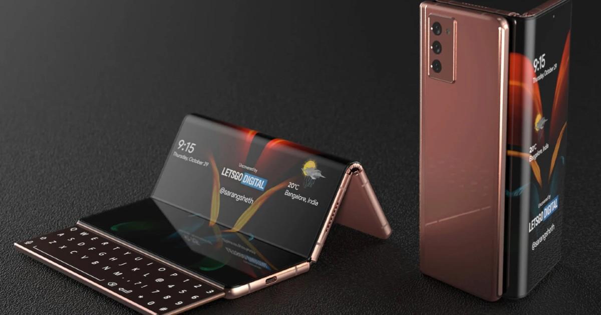 Samsung Galaxy Z Fold Tab concept Header