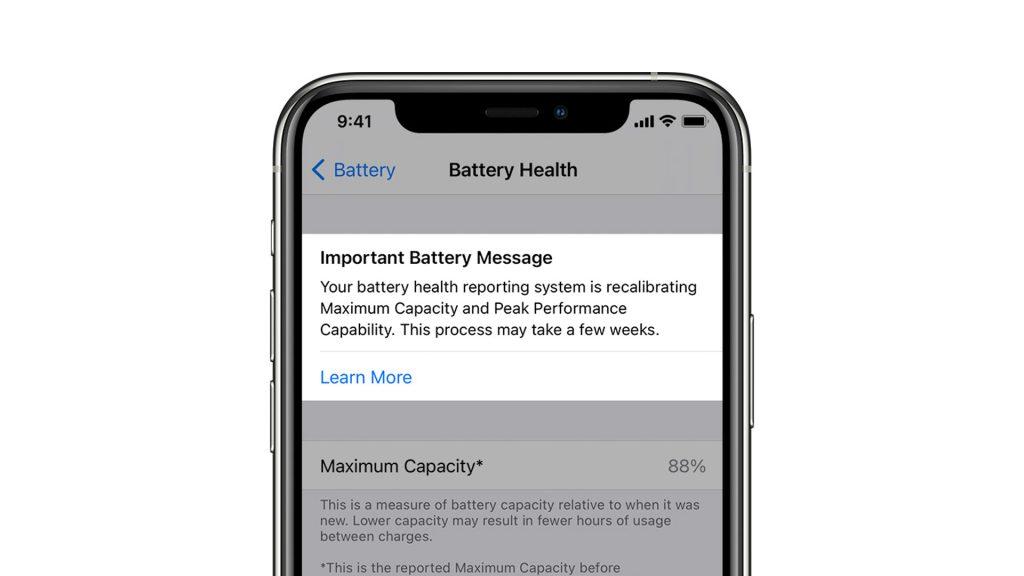 iPhone Battery calibration