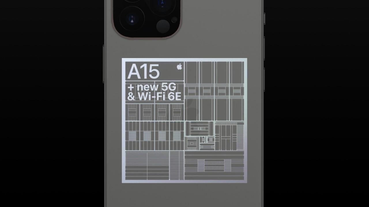 Apple A15 Mockup