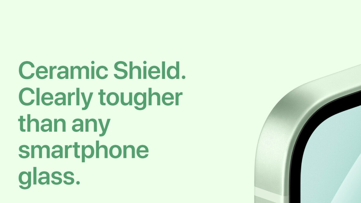 iPhone 12 Ceramic Shield Display