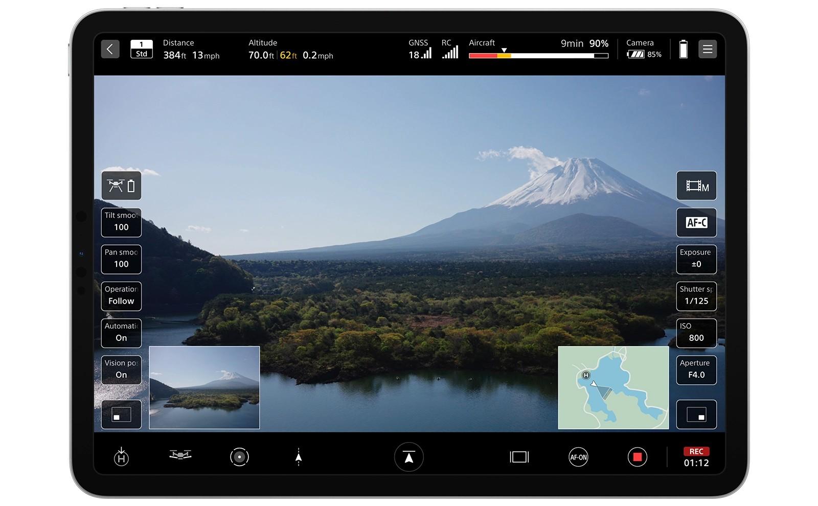 Airpeak S1 iPad Flight App (1)