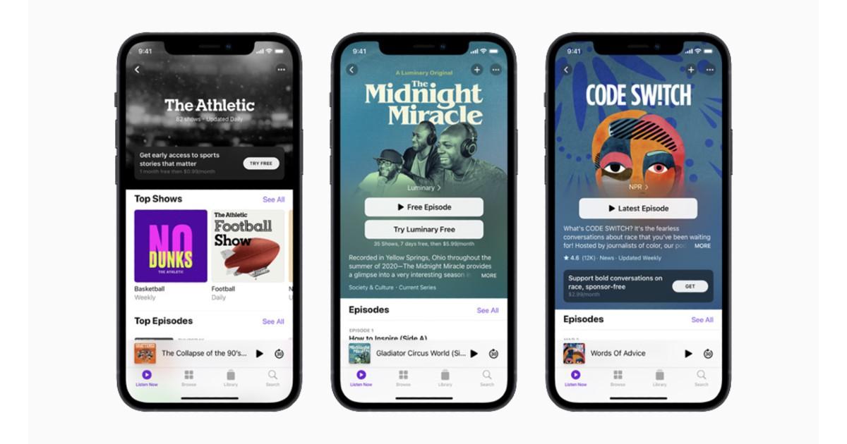 Apple Podcast Header