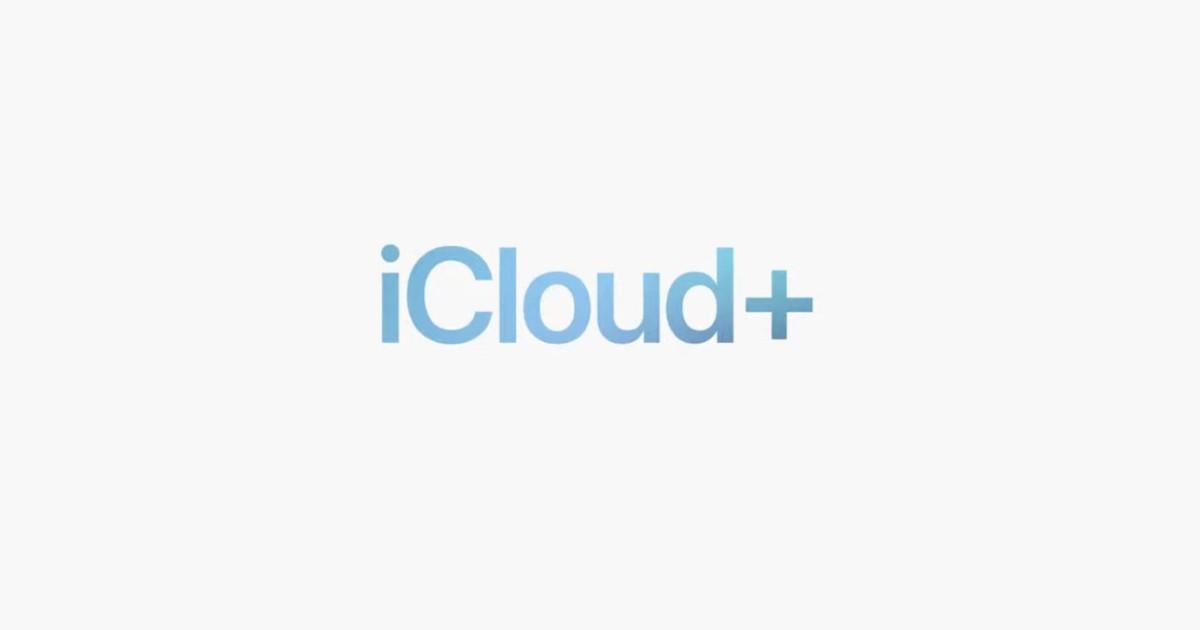 Apple iCloud+ Header
