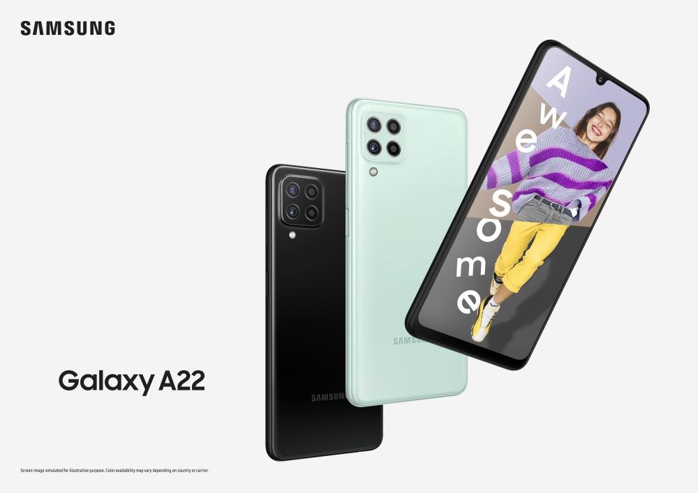 Galaxy A22 LTE Main KV