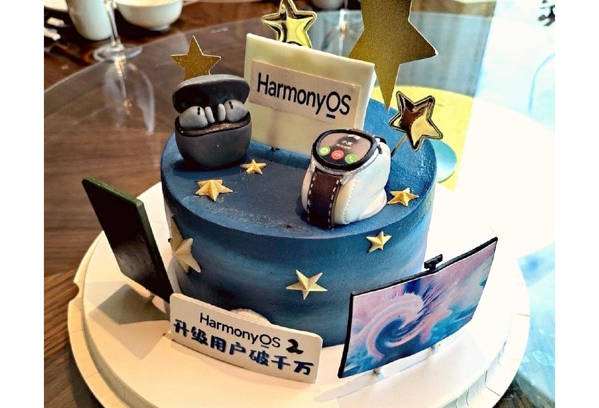 HarmonyOS 2 Cake