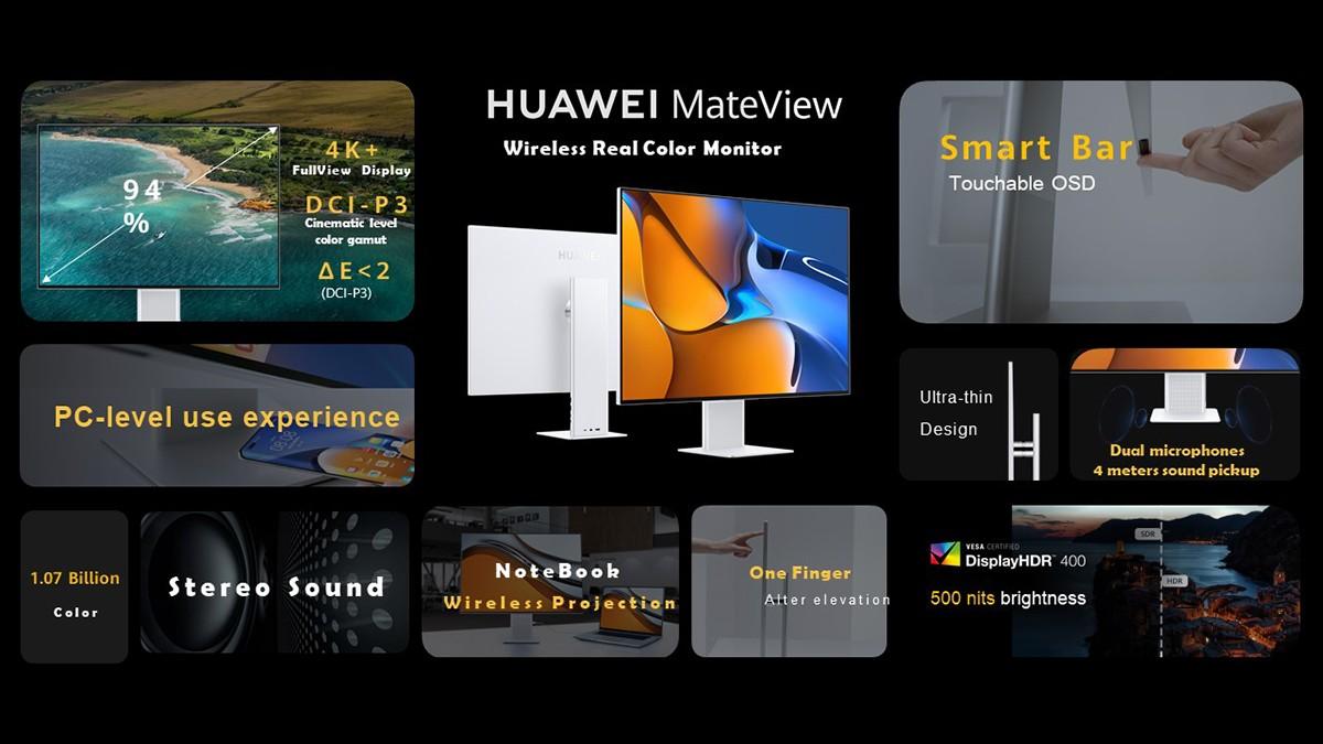 Huawei MateView Spec