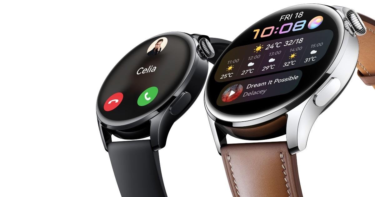 Huawei Watch 3 Header