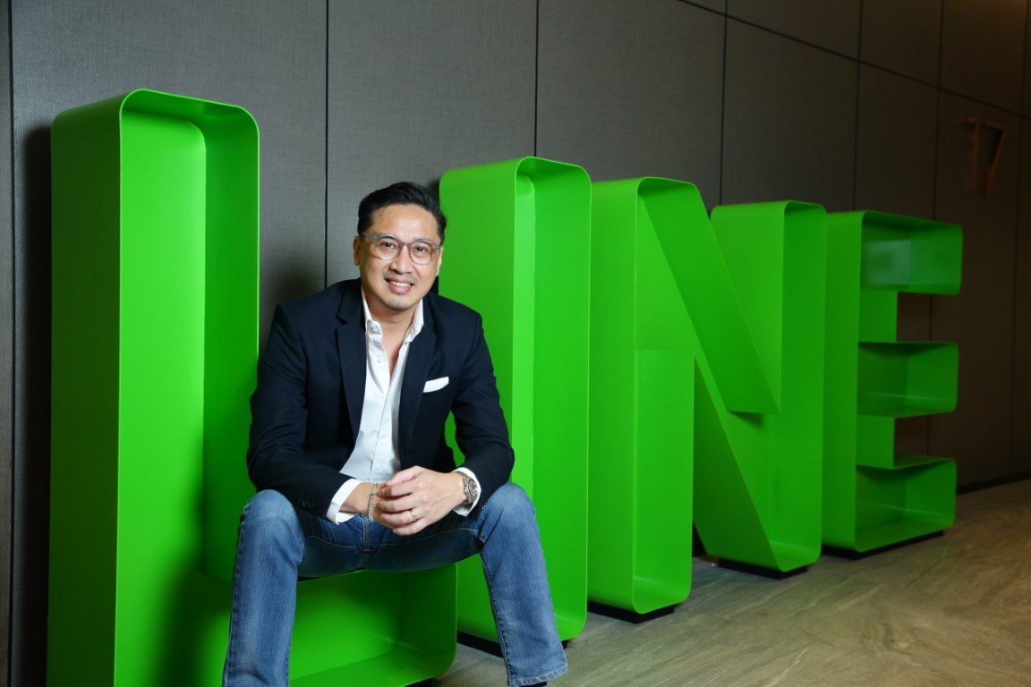 LINE 10th Anniversary – Dr. Phichet Rerkpreecha CEO (resized)