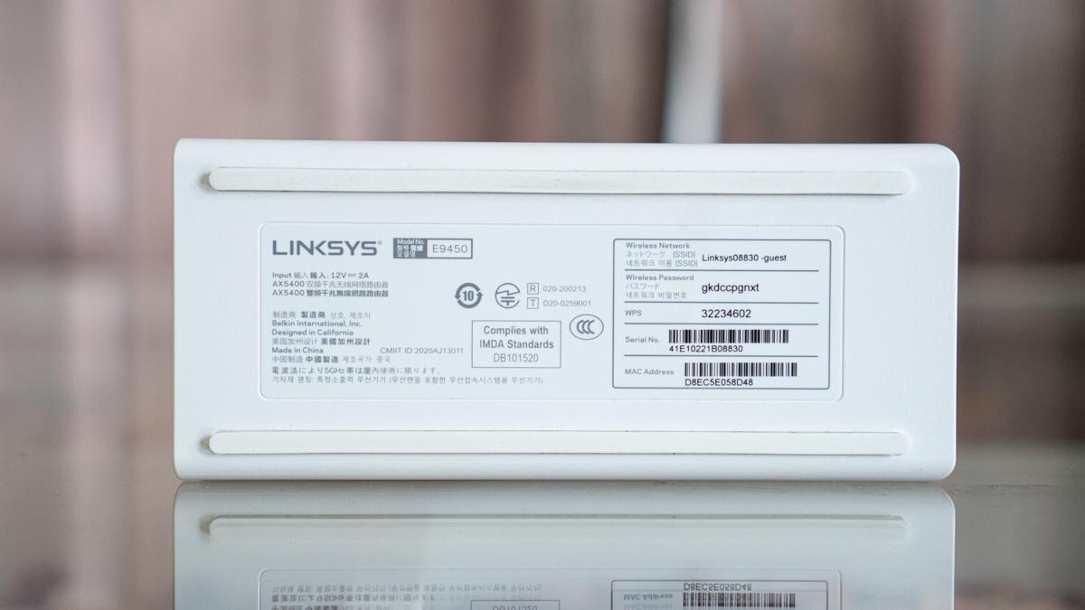 Linksys E9450-42