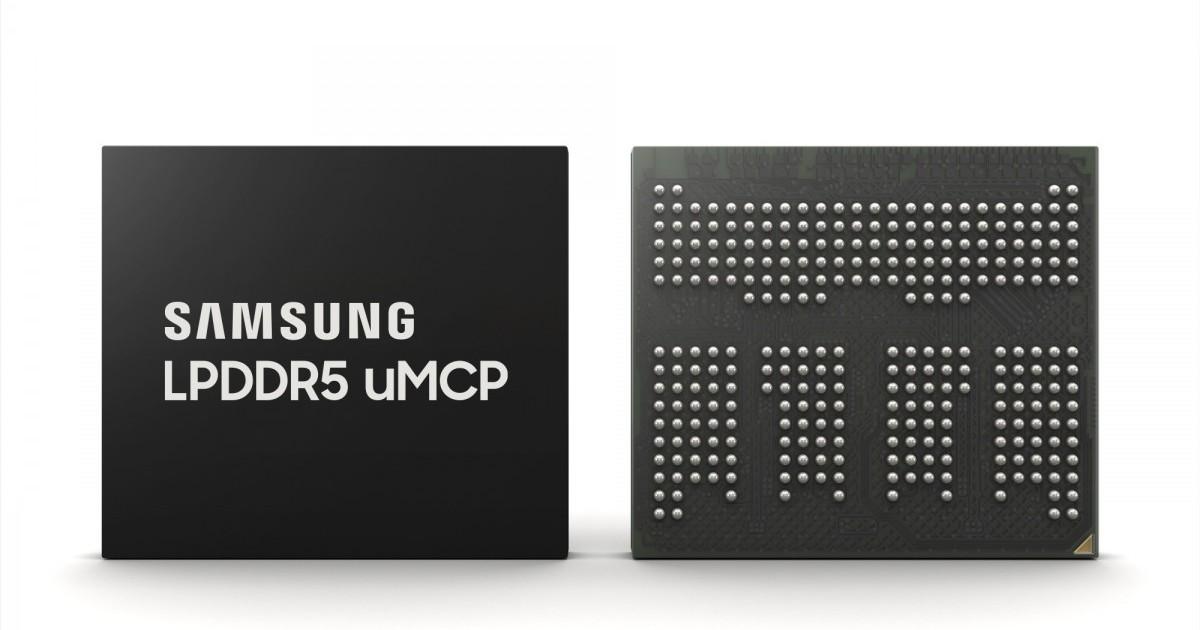 Samsung LPDDR5 uMCP Header