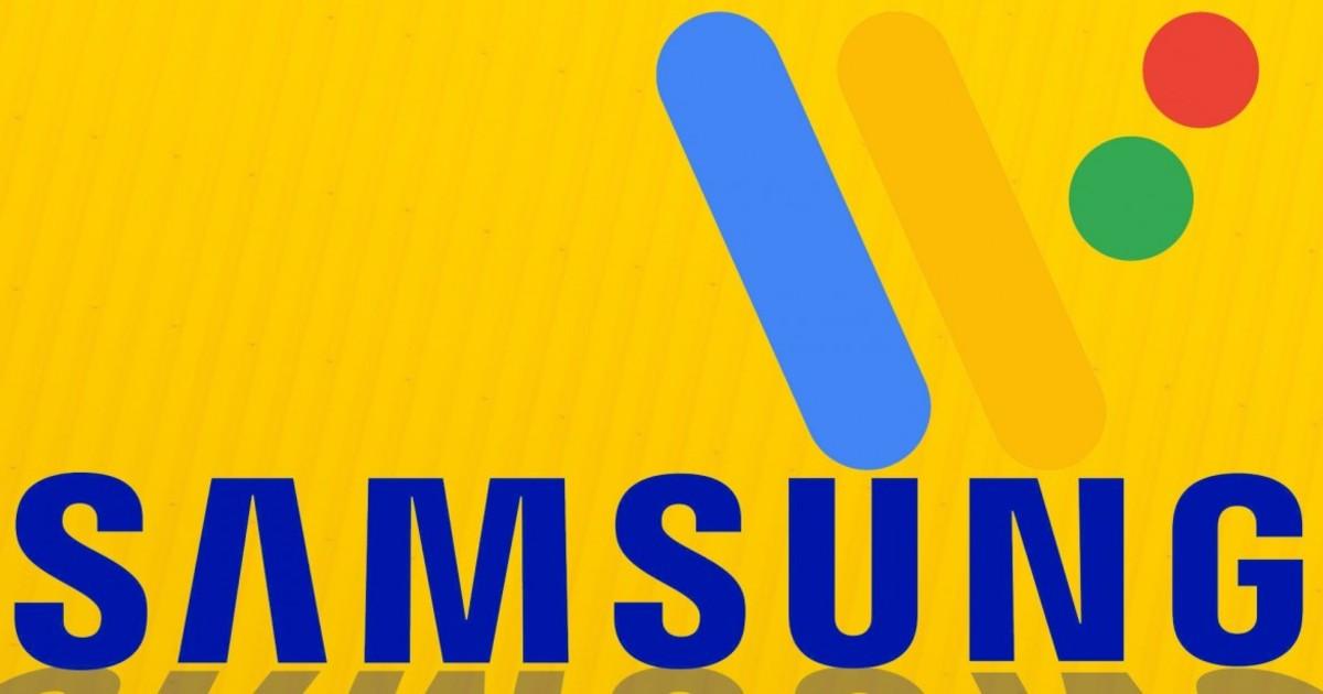 Samsung Wear OS Header
