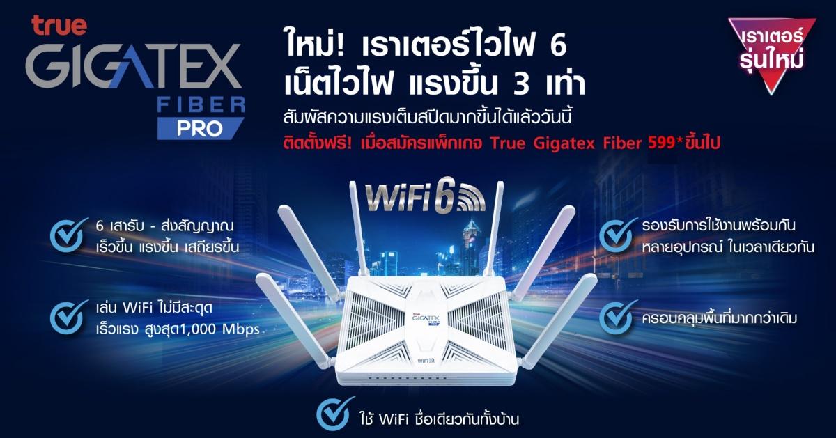 True Gigatex Fiber PRO