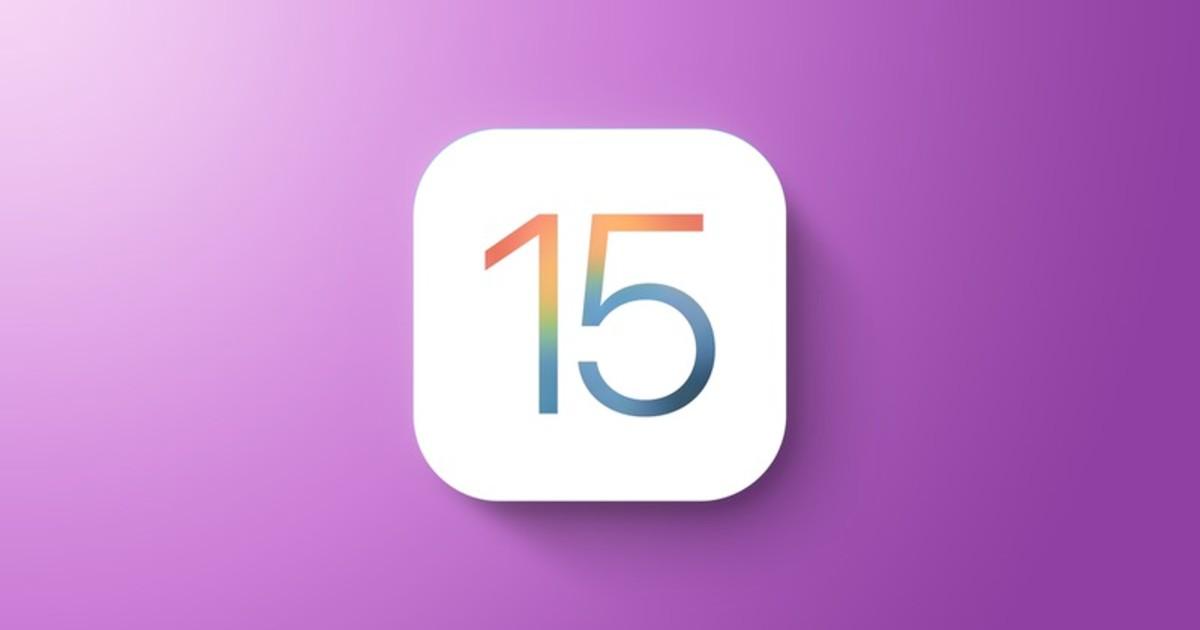 iOS 15 iPadOS 15 Header