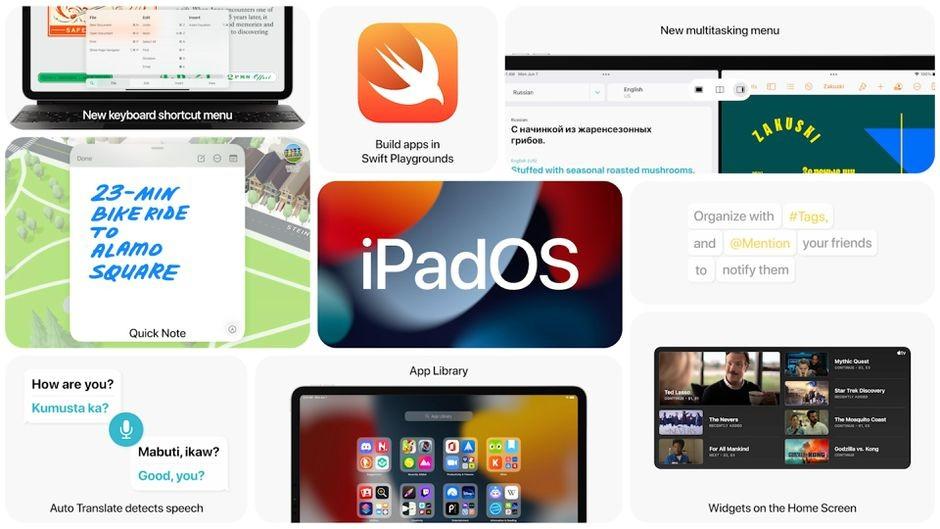 iPadOS 15 feature