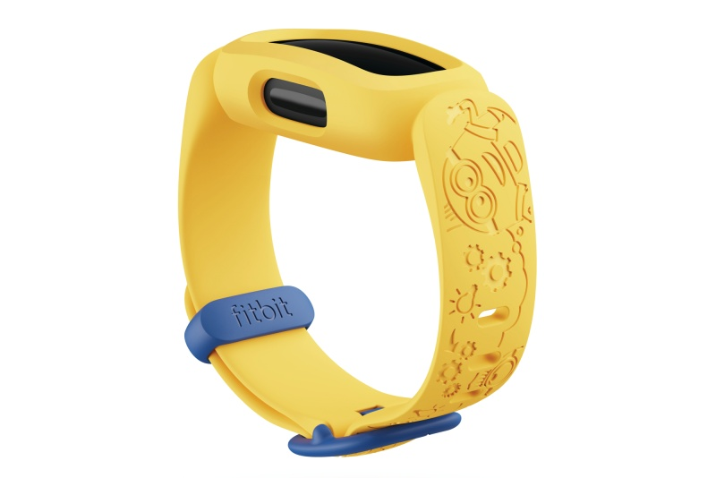 Fitbit_Ace_3_Render_Dramatic_SE_Minions_Yellow_Blank_Shadow