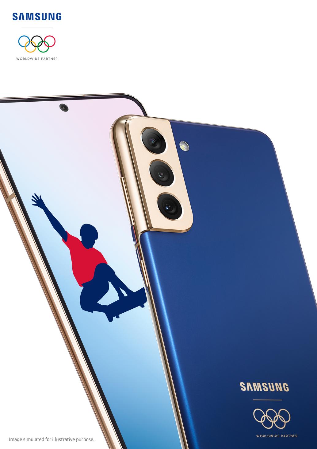 Galaxy S21 5G Tokyo 2020 Athlete Phone (2)