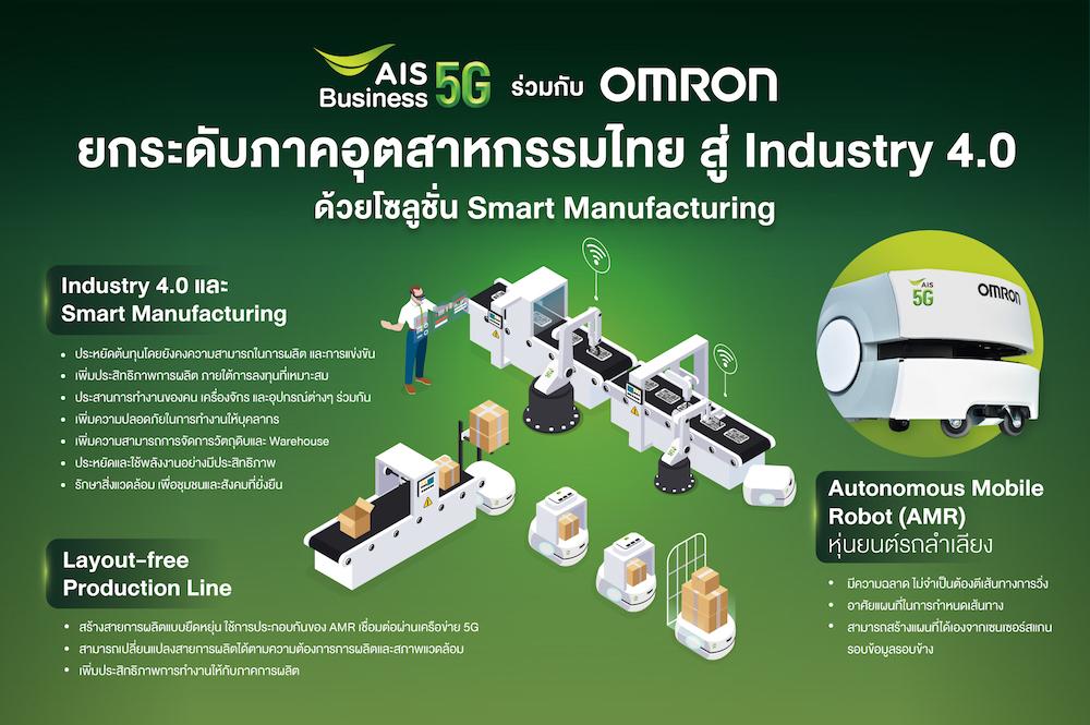 Pic02 AIS x OMRON ส่งโซลูชั่น Industry 4.0 ตอบโจทย์ Smart Manufacturing