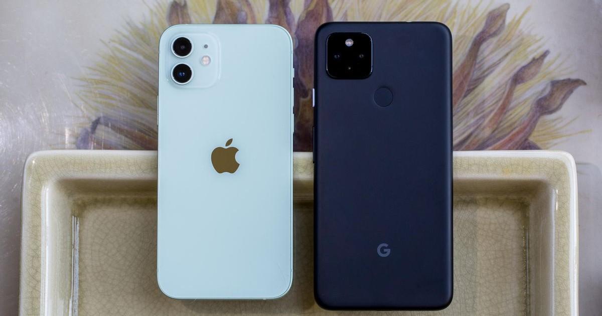 iPhone 12 VS Pixel 4
