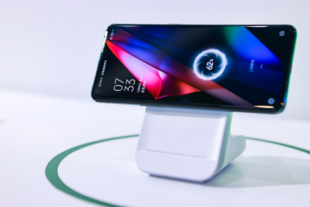 (1) MagVOOC wireless flash charging stand
