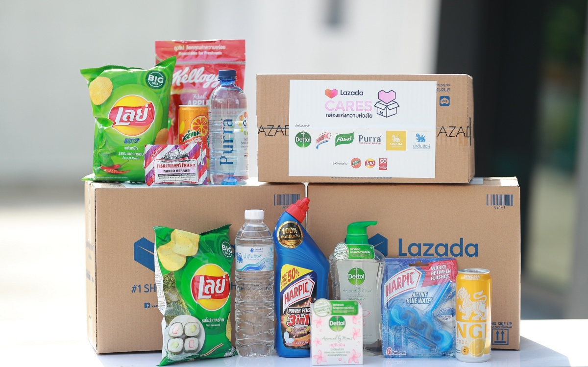2. Mega giving with LazadaCARES