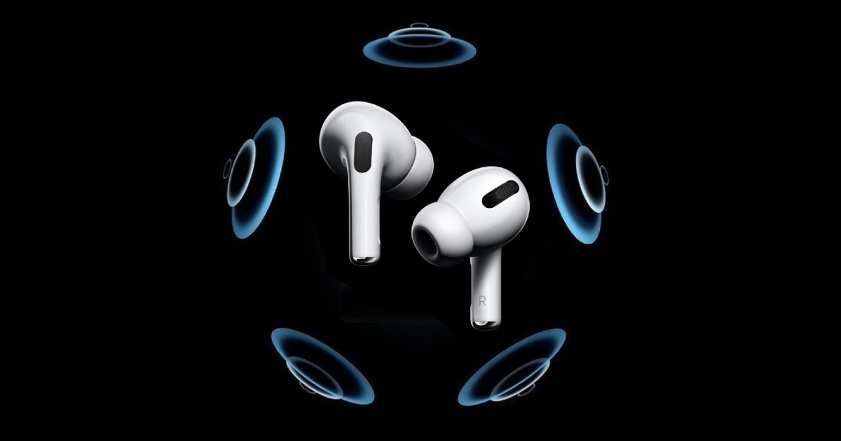 AirPods Pro Spatial Header