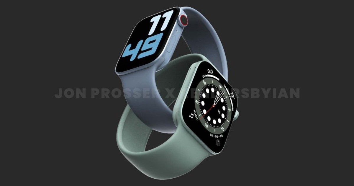 Apple Watch Series 7 Leaked Header