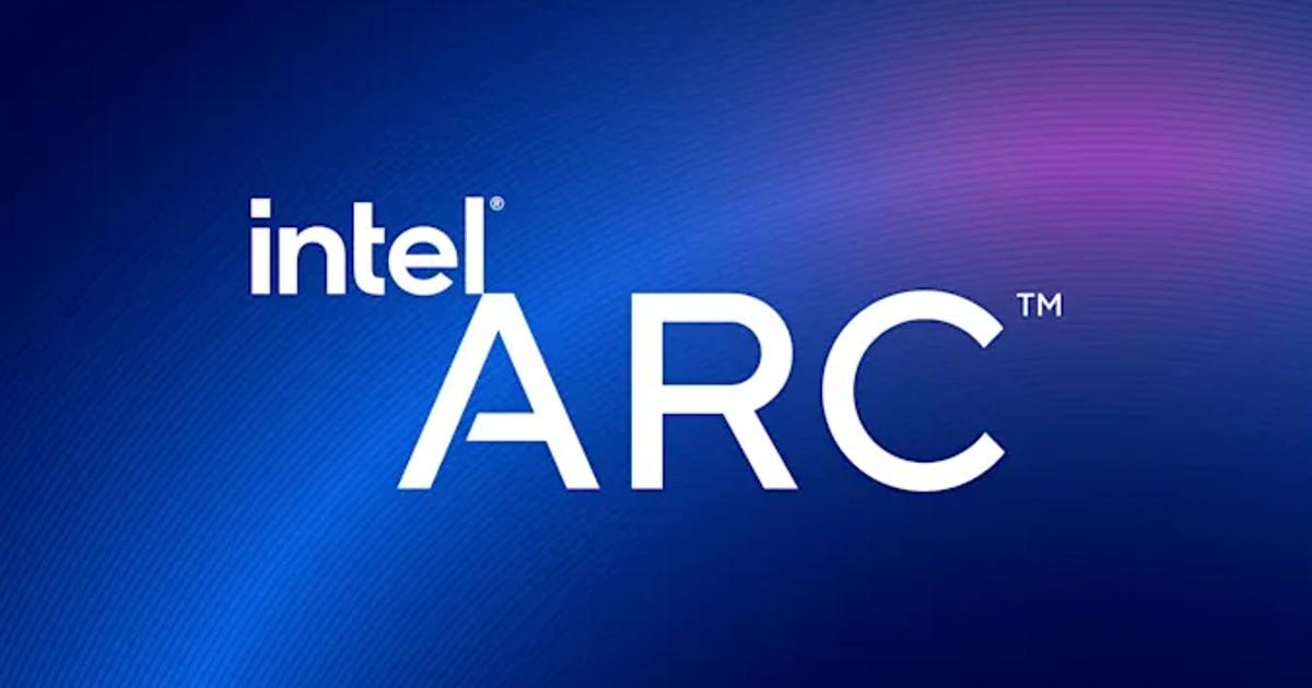 Intel ARC Header