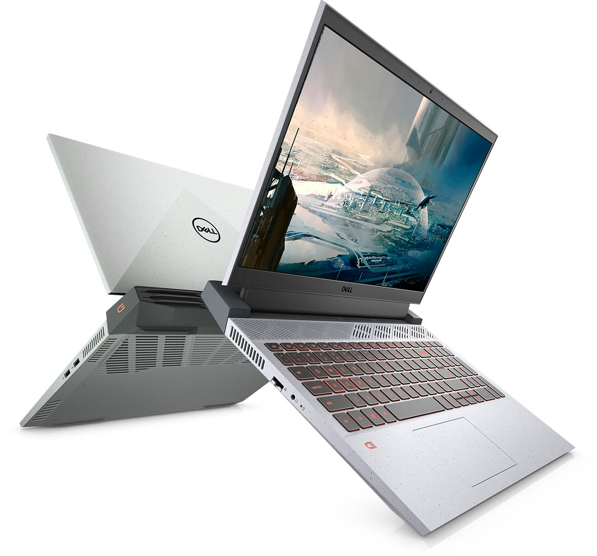 12 Dell G15 Ryzen Edition front and back