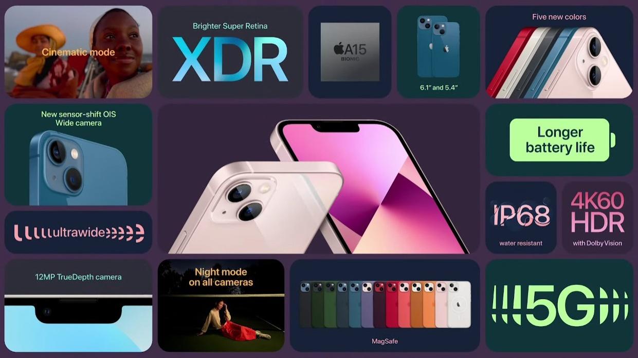 Apple iPhone 13 : 13 Mini (9)