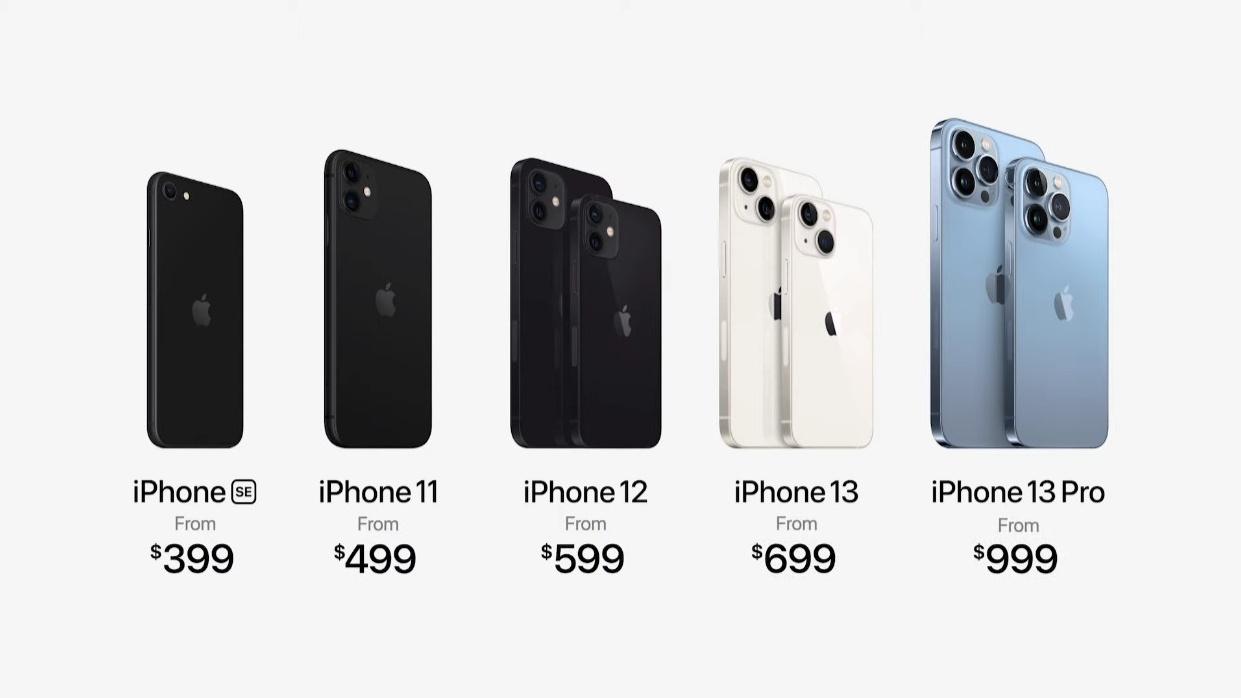 Apple iPhone 13 Pricing