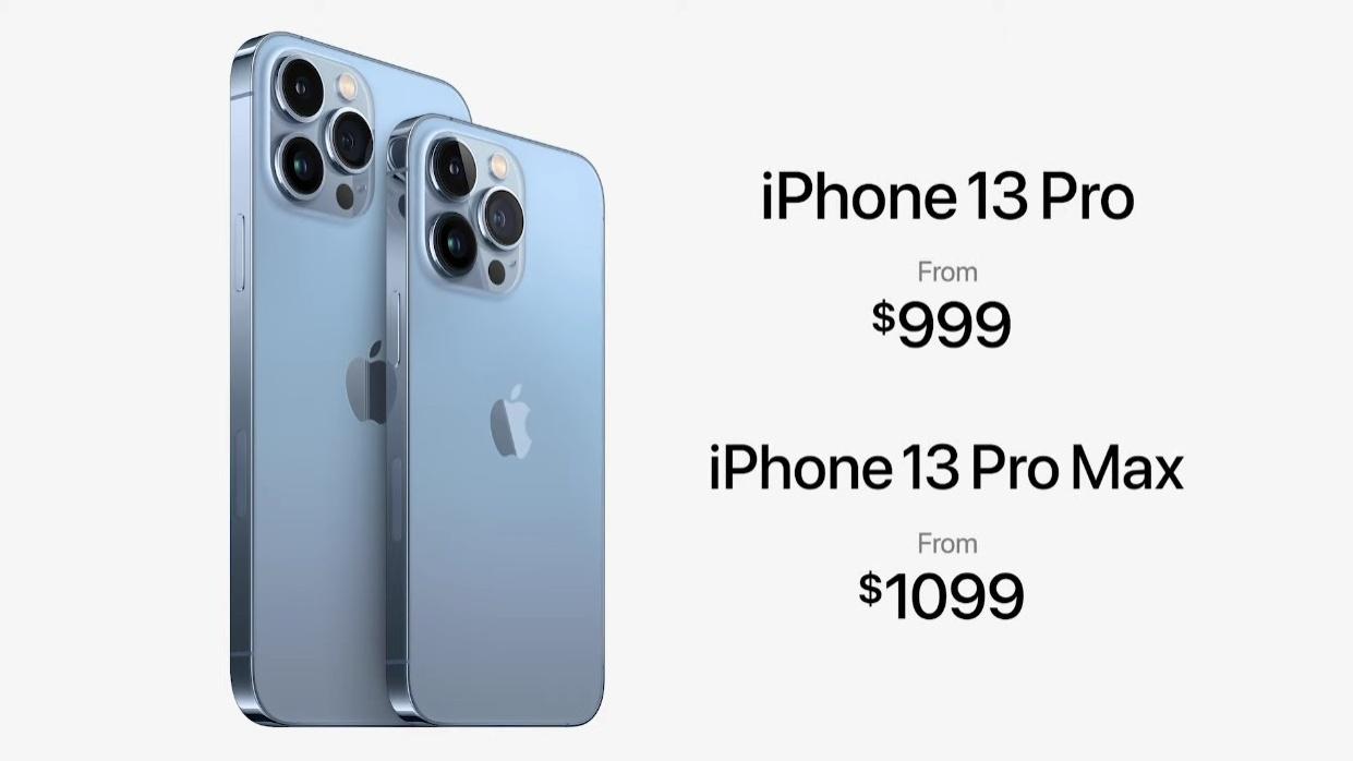Apple iPhone 13 Pro 13 Pro Max Pricing
