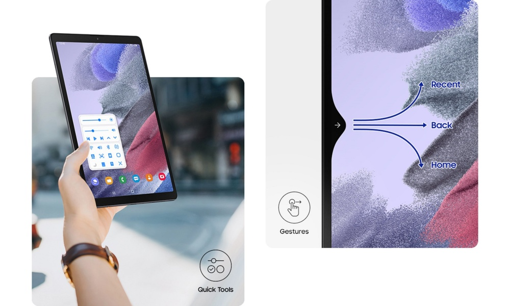 [Galaxy Tab A7 Lite] LTE_03_One handed_PC.