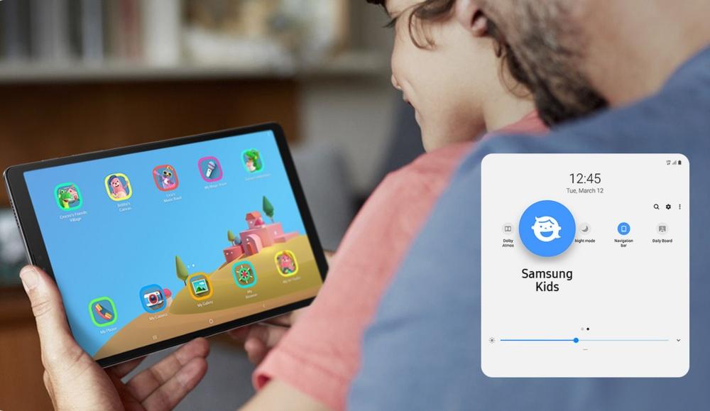 [Galaxy Tab A7 Lite] LTE_10_Samsung Kids_PC
