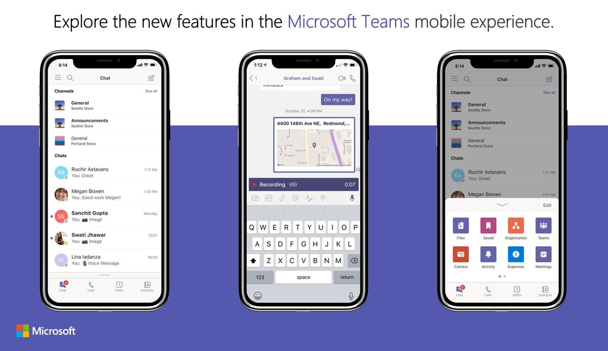 Microsoft Teams Mobile iOS